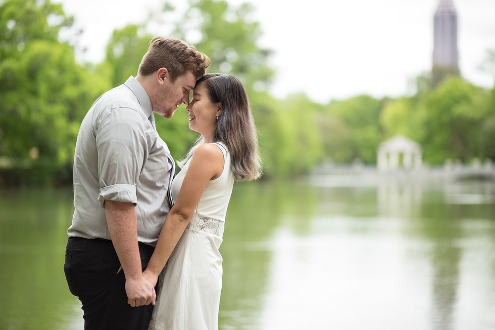 Atlanta wedding engagement photographers atlanta botanical garde