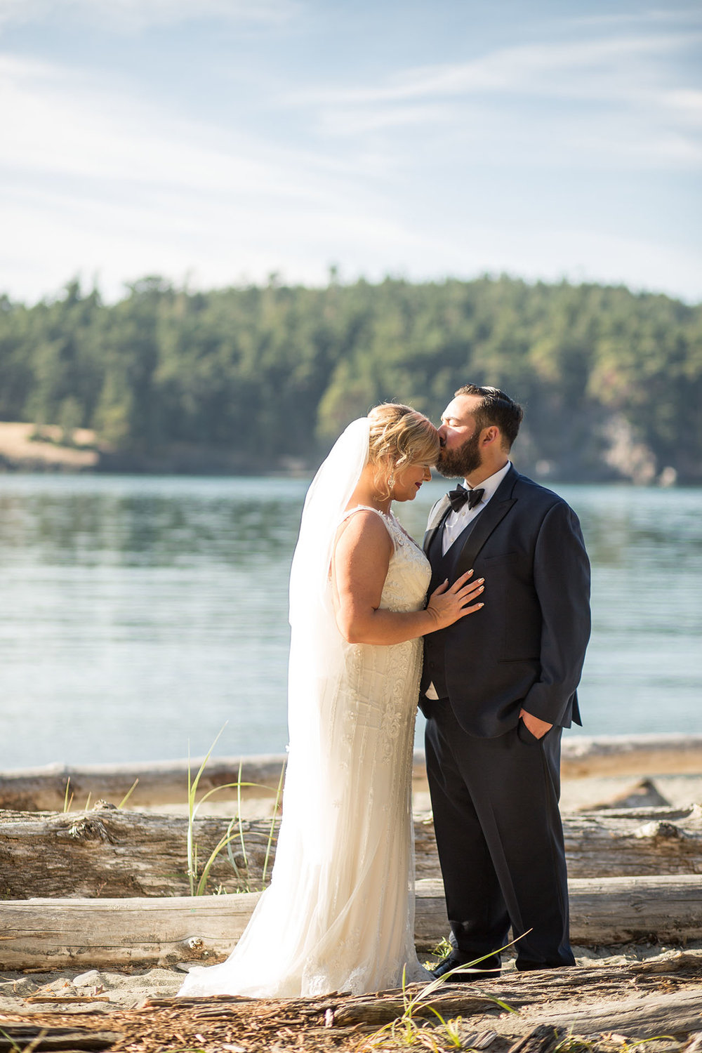 Deception Pass State Park Elopement PNW Seattle Wedding Photogra
