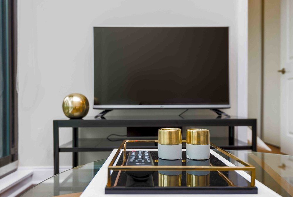 Yorkville Modern suite television