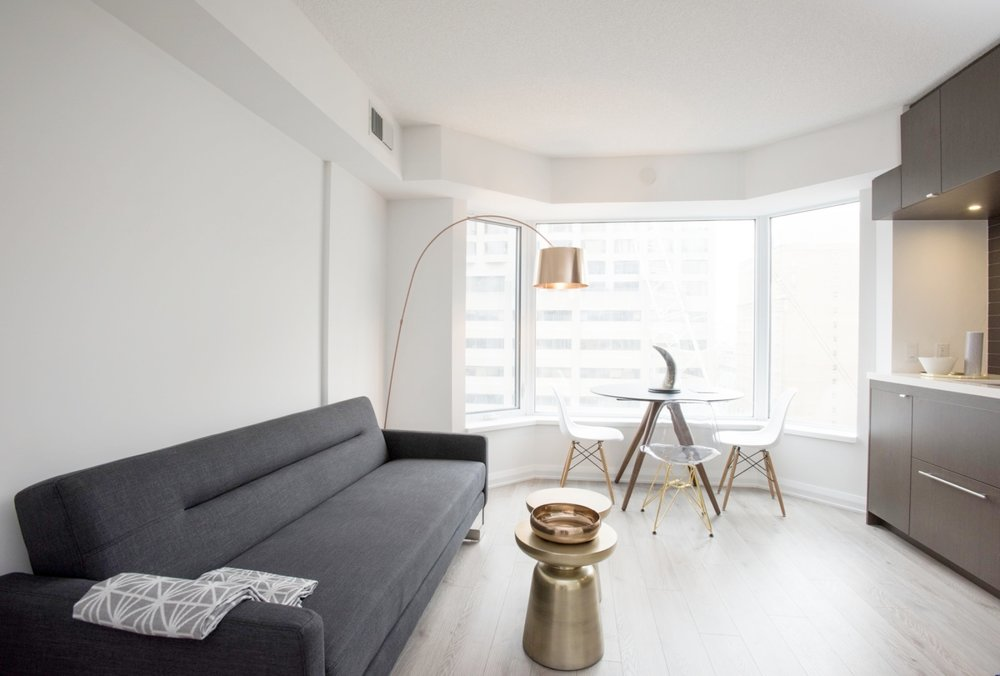 Furnished Yorkville Apartment - View