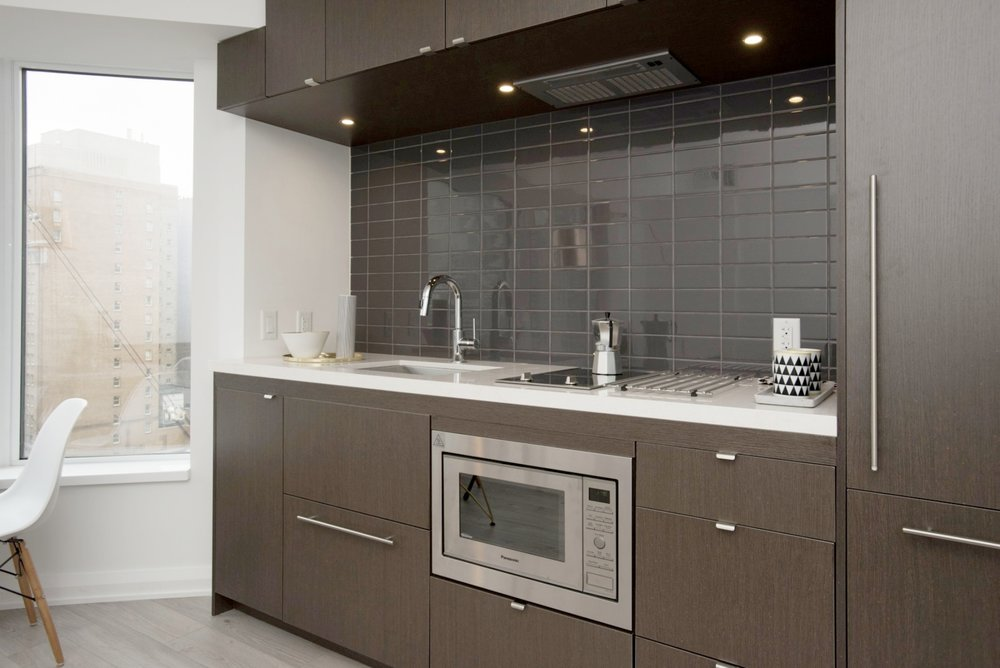 Yorkville Furnished Condo - Kitchen