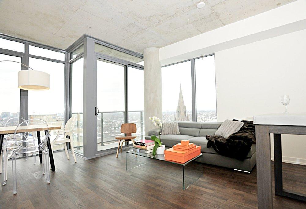 Copy of Copy of Copy of Copy of Furnished Apartment King St - Living Room