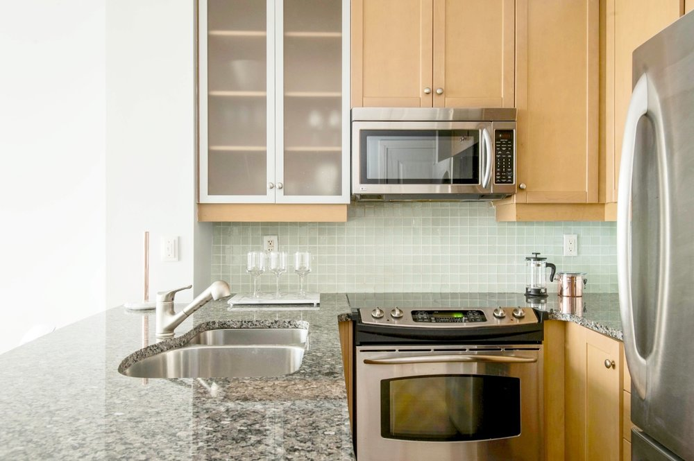 Copy of Stunning Furnished Condo - Modern Kitchen