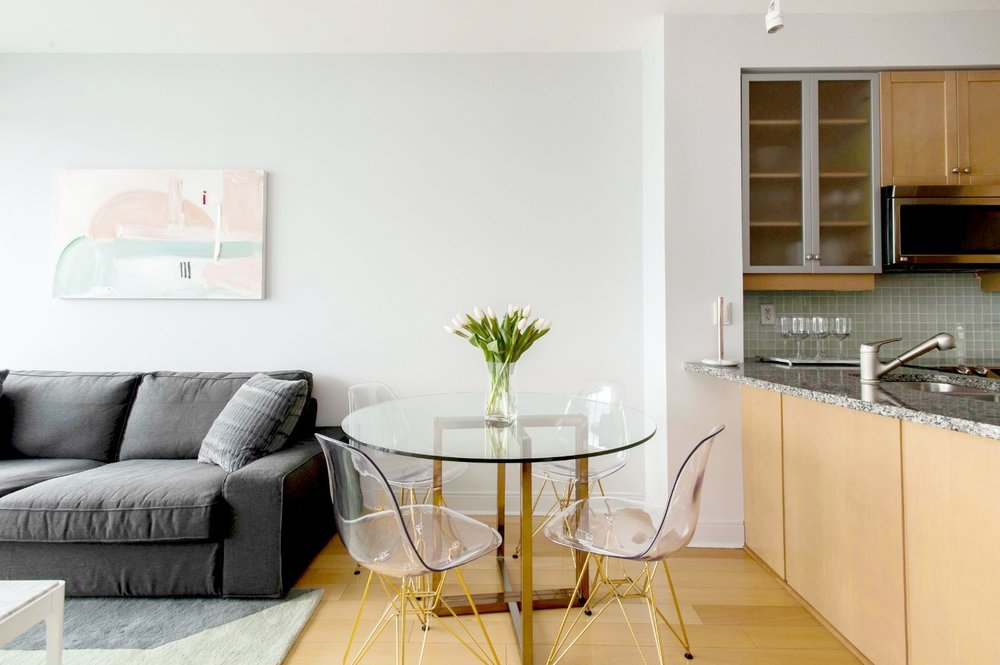 Stunning Furnished Condo - Dining Table