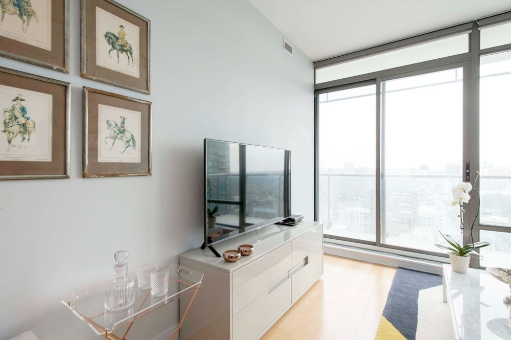Stunning Furnished Condo - Television