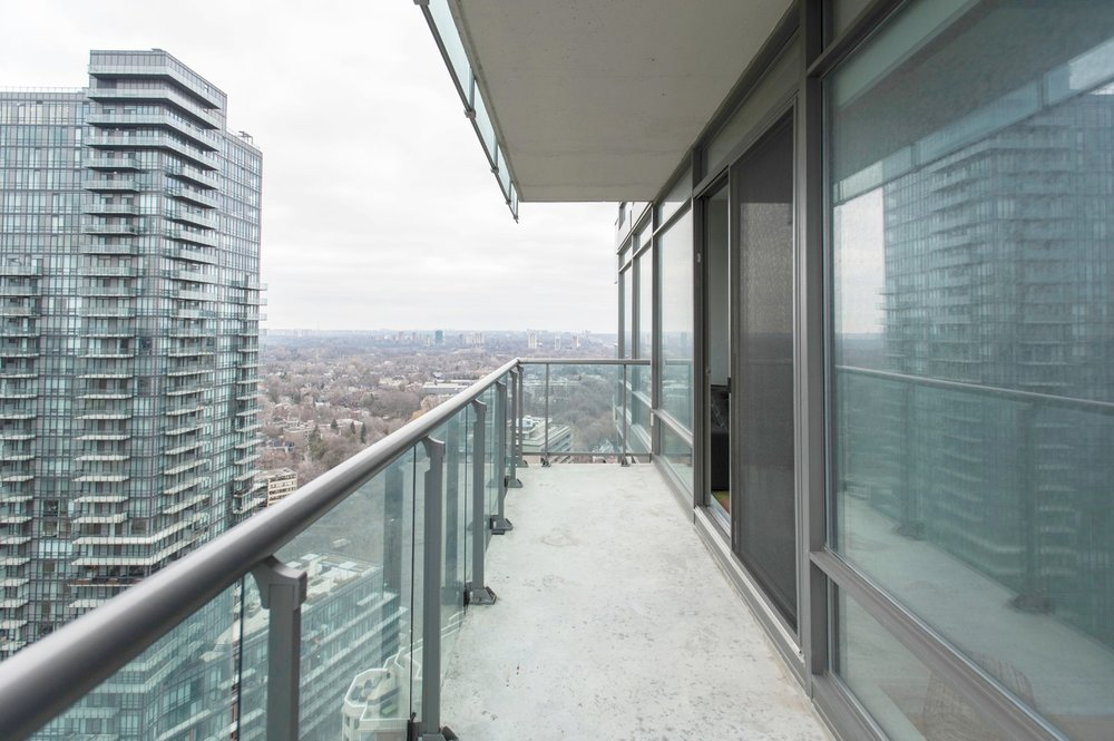 Yorkville Furnished Condo - Balcony View