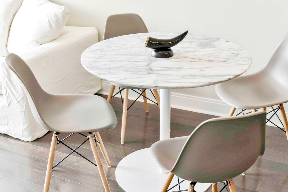 Yorkville Luxury Furnished Apartment - Dining Table