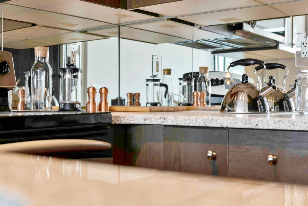 Furnished Apartments Toronto Kitchen Granite Counters