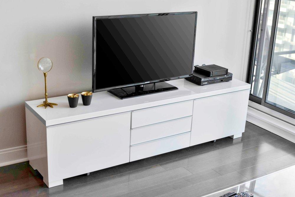 Yorkville Luxury Condo - TV Stand