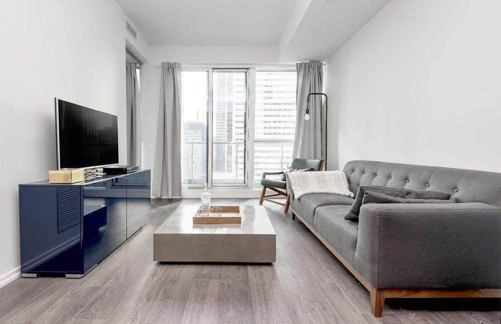 Copy of Copy of Copy of Copy of Adelaide Furnished Suite - Living Room