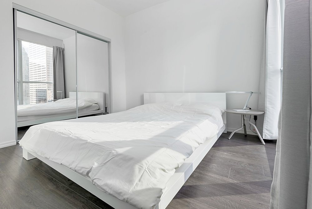 Copy of Copy of Copy of Downtown Toronto Furnished Suite - Luxury Bedroom
