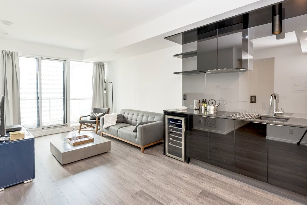 Downtown Furnished Apartment - Kitchen
