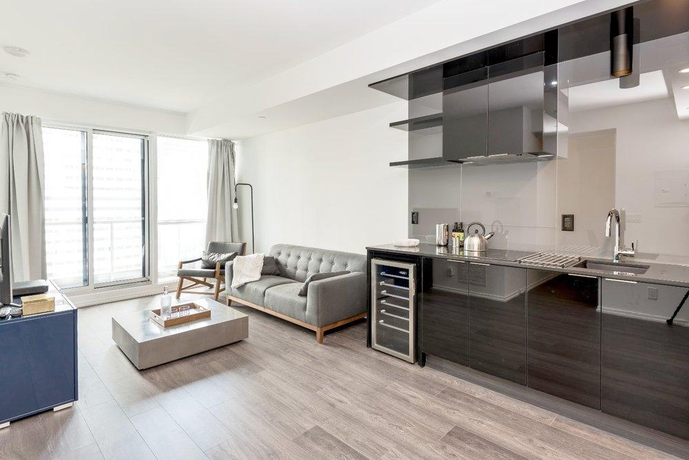 Copy of Copy of Copy of Copy of Downtown Furnished Apartment - Kitchen