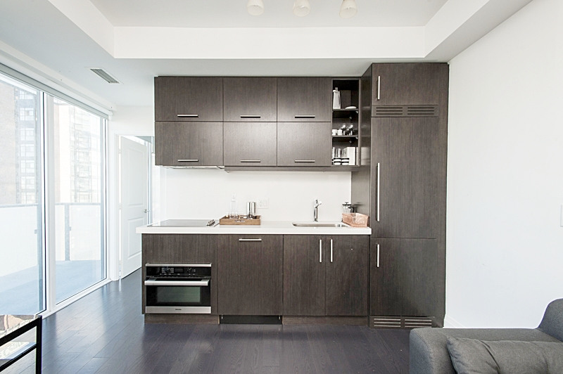 Copy of Central Yorkville Furnished Condo - Kitchen