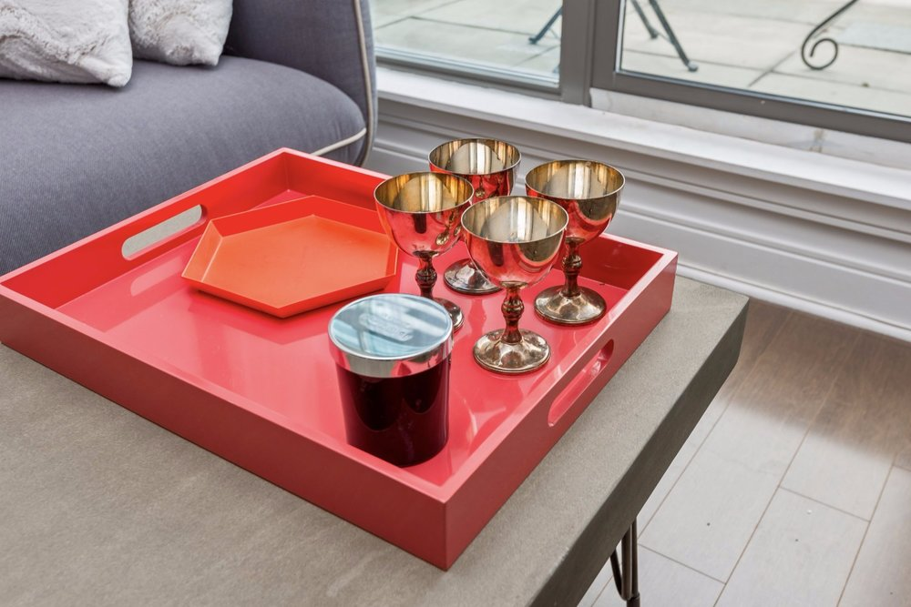 Yorkville Grand Condo - Coffee Table, Tray