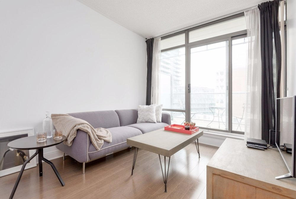 Yorkville Grand Condo - Coffee Table, Sofa