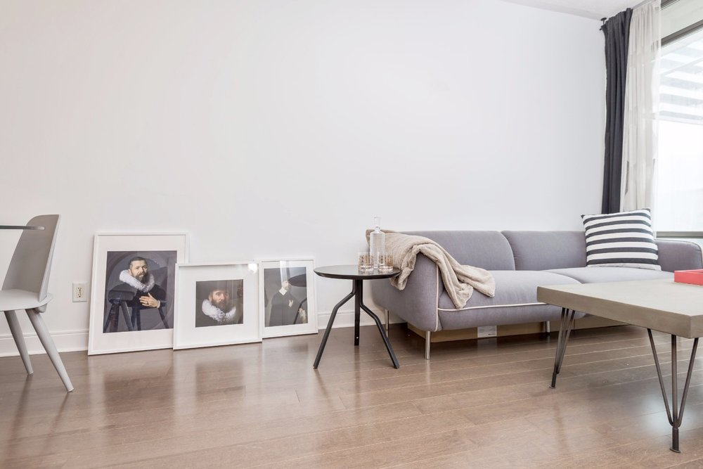 Yorkville Grand Condo - Livingroom, Paintings