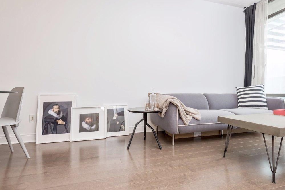 Copy of Yorkville Grand Condo - Livingroom, Paintings