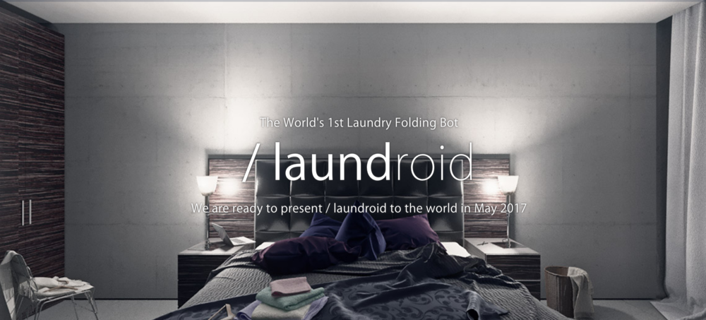 Laundroid Folding Laundry Bot