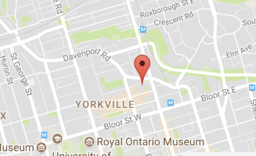 Yorkville Furnished Apartment Map