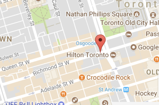 Toronto Furnished Apartment Downtown Map