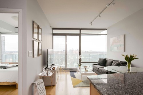 Copy of short term furnished rentals toronto yorkville living room