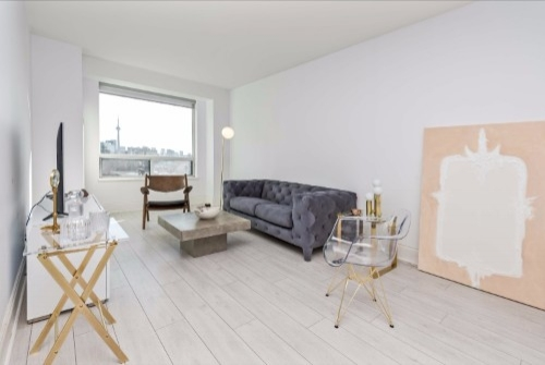Copy of affordable short term rentals toronto yorkville two bedroom living room