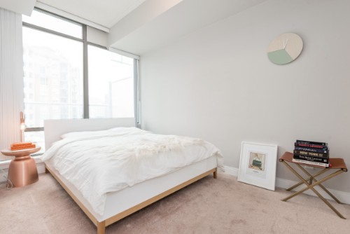 Copy of short term furnished rentals toronto Yorkville bedroom
