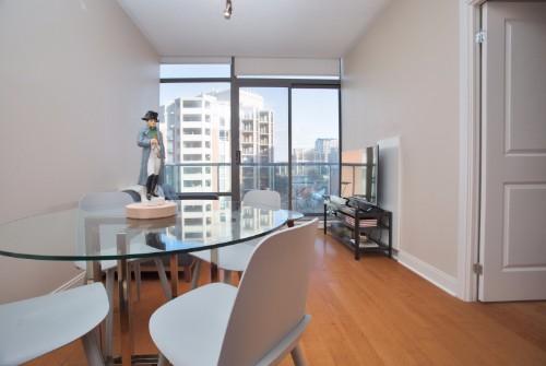 Central Yorkville Condo - Livingroom