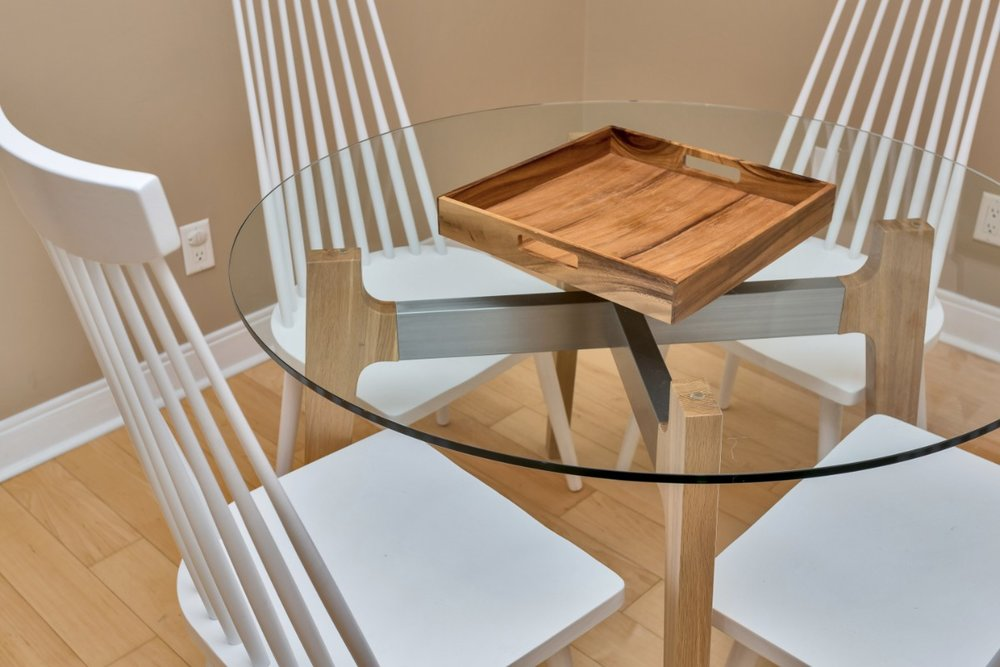 Yorkville furnished dining table