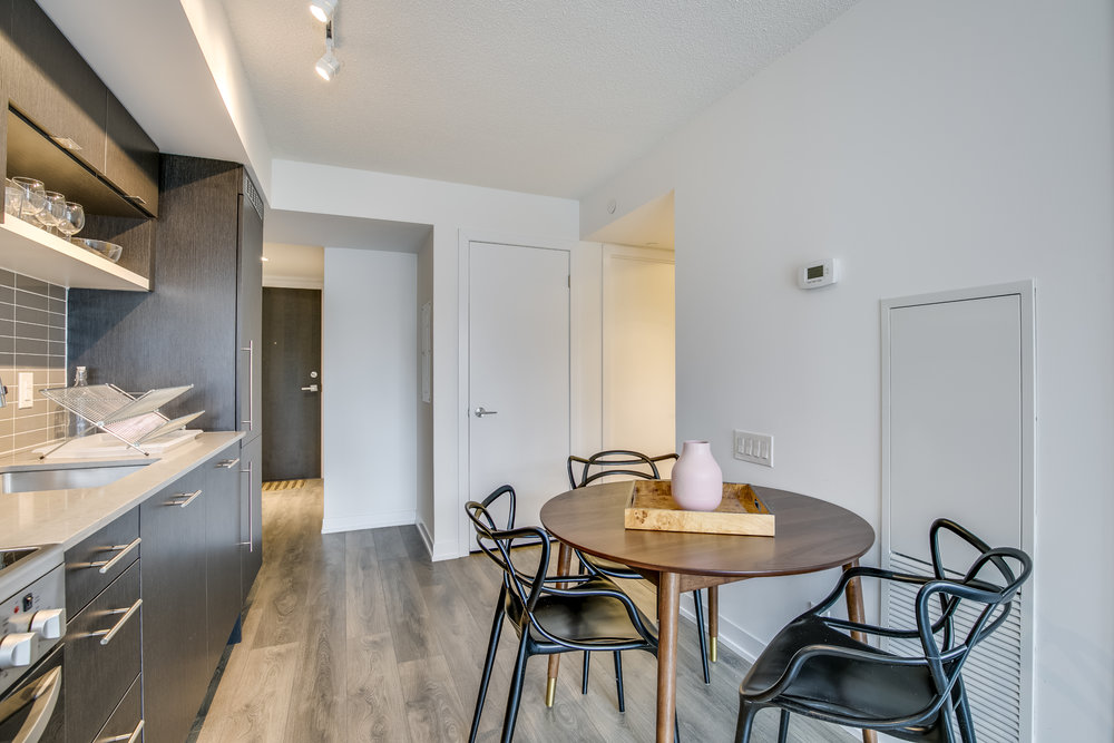 Copy of Copy of Copy of short term furnished rentals toronto yorkville dining chairs