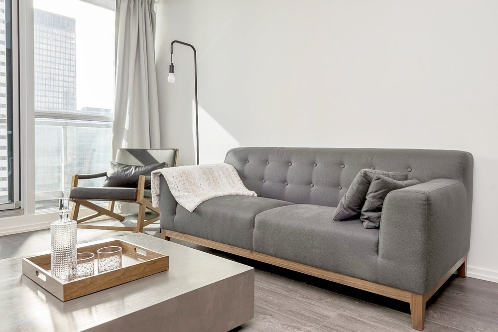 Adelaide Furnished Suite - Sofa, Coffee Table