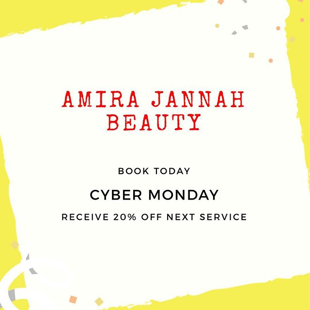 Book online today and receive 20% off your next service! #cybermonday link in bio. @amirajannahbeauty all services included. #thetravelinghairstylist