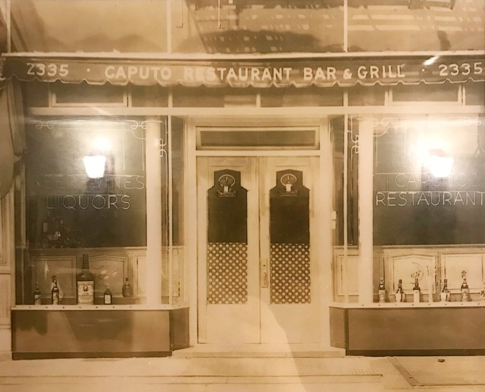 Before it was Dominick's Caputo's filled 2335 Arthur Avenue