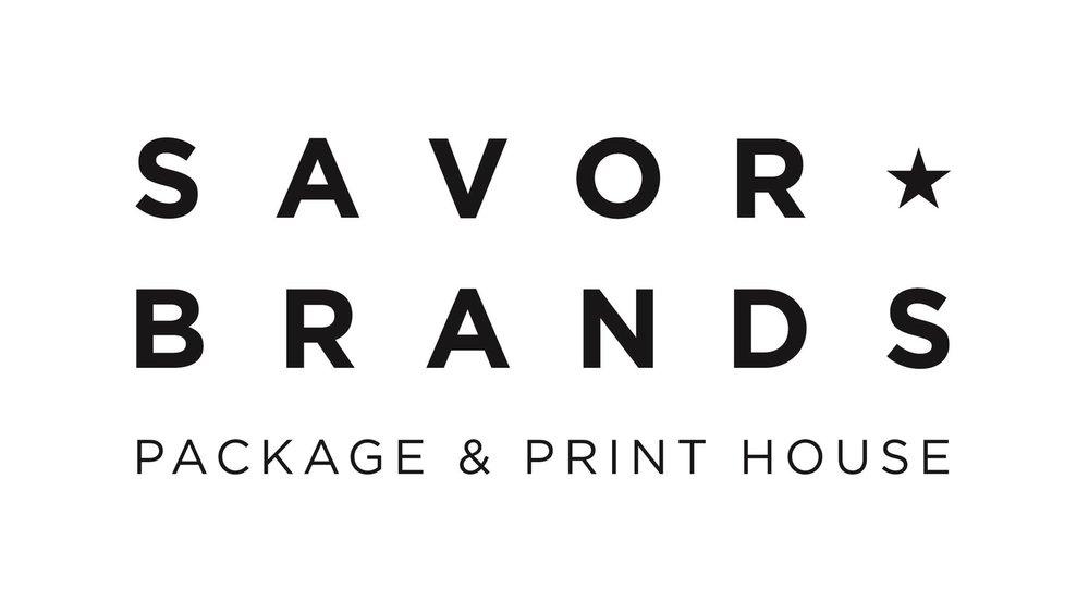 Savor Brands BLACK Wordmark Tagline BW PRINT-01.jpg