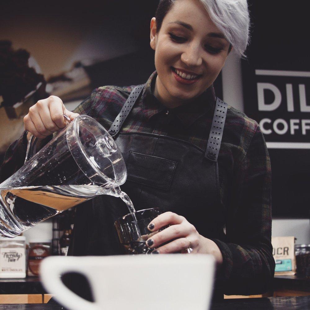 Samantha Spillman   Dillanos Coffee Roasters – Seattle, WA