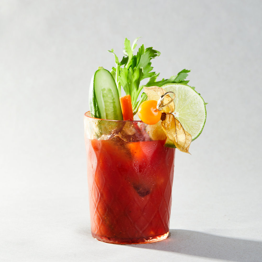 TOMATO BEET BLOODY MARY
