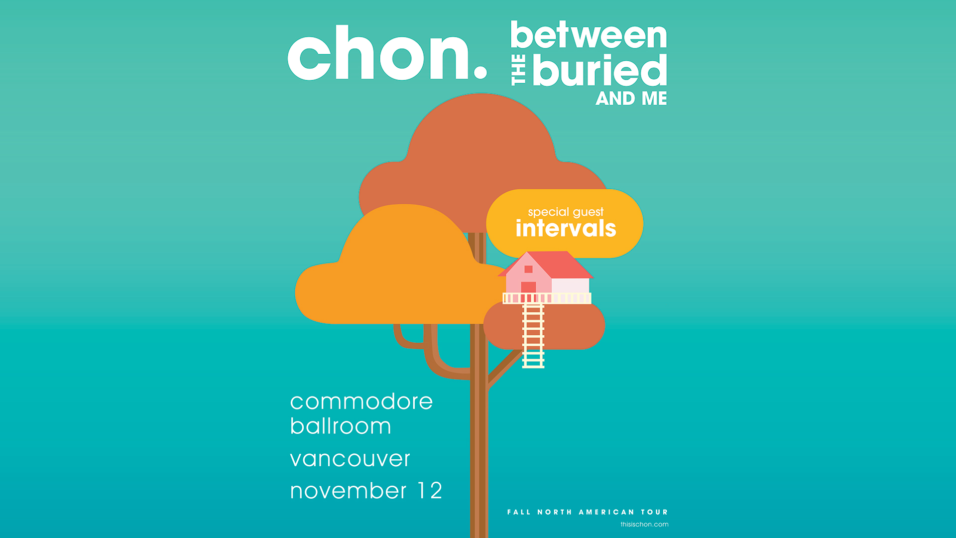 Chon Between The Buried And Me The Commodore Ballroom