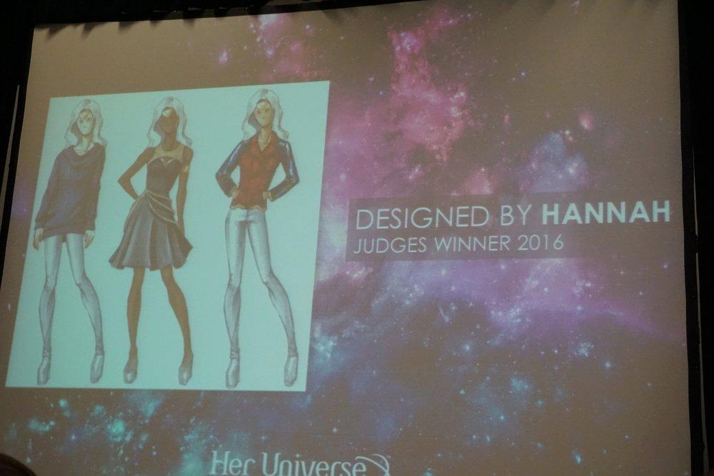 Hannah Kent's designs
