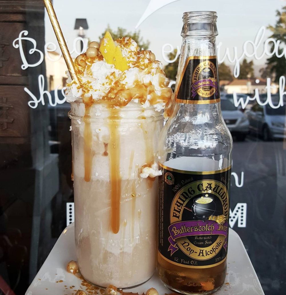 Butterbeer Float