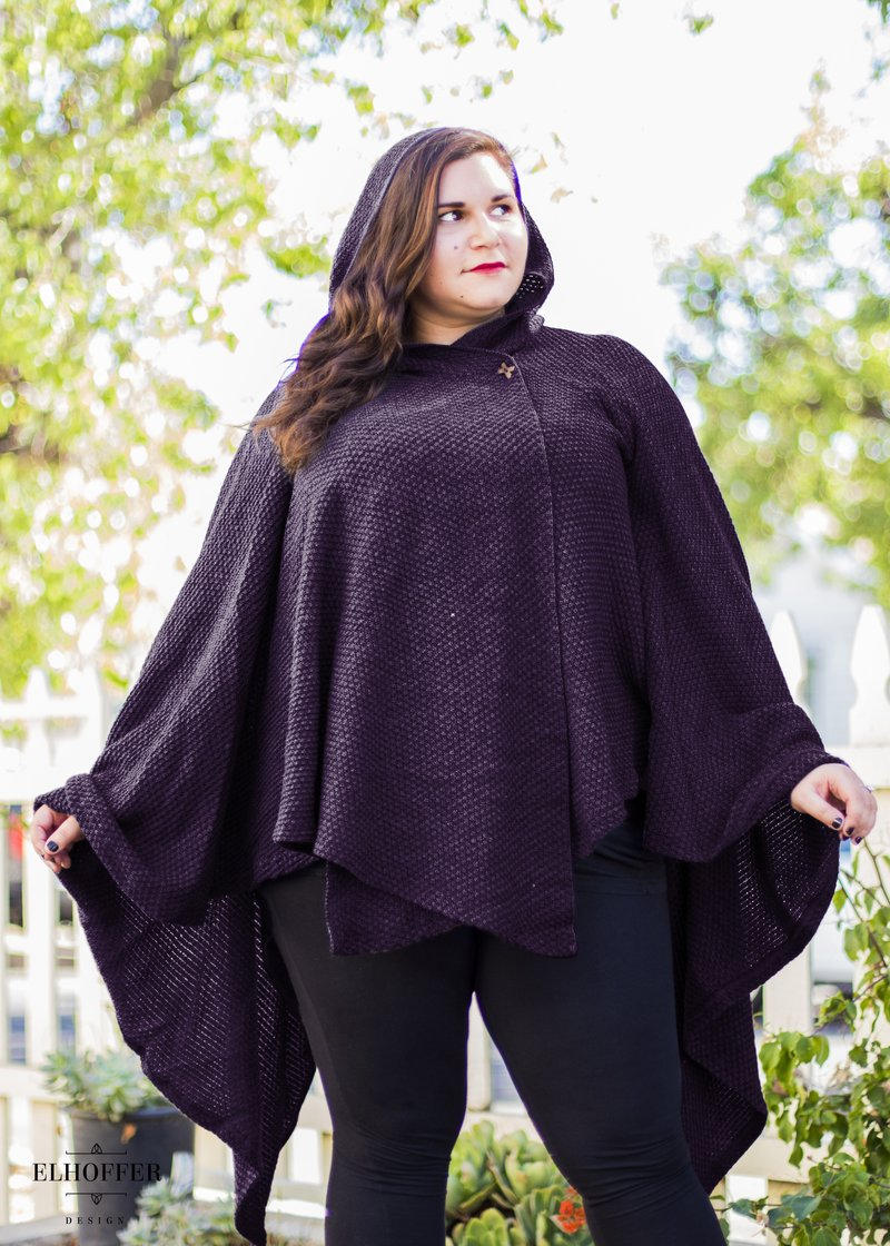 Galactic Scavenger Cape in Purple