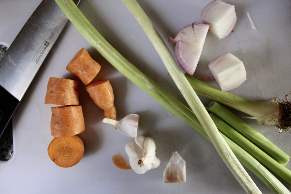 veggies-for-chicken-broth