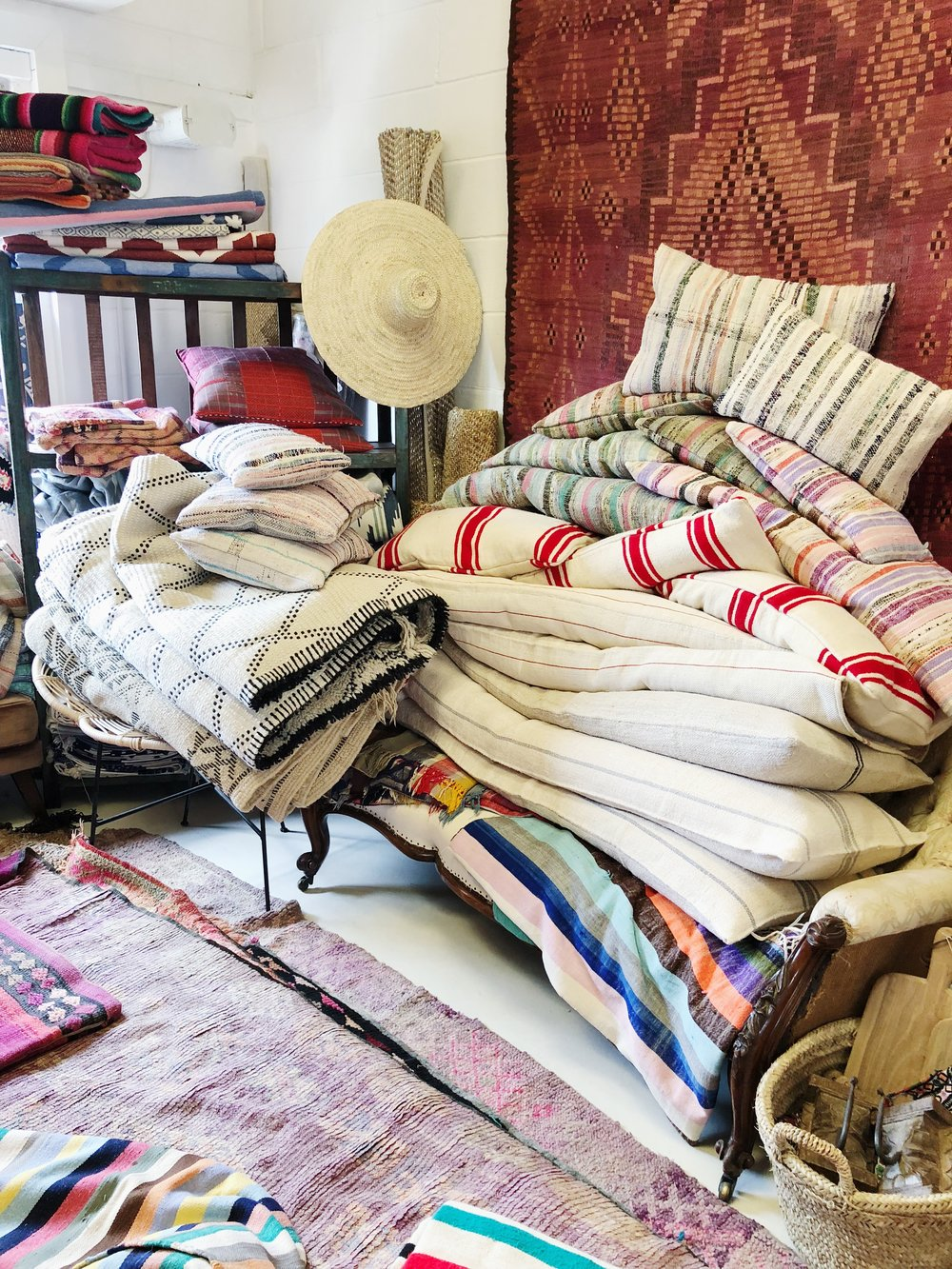 RUGS BY FRANCESCA   Francesca Gentilli  has the most amazing collection of Moroccan Rugs she will have available to shop ...
