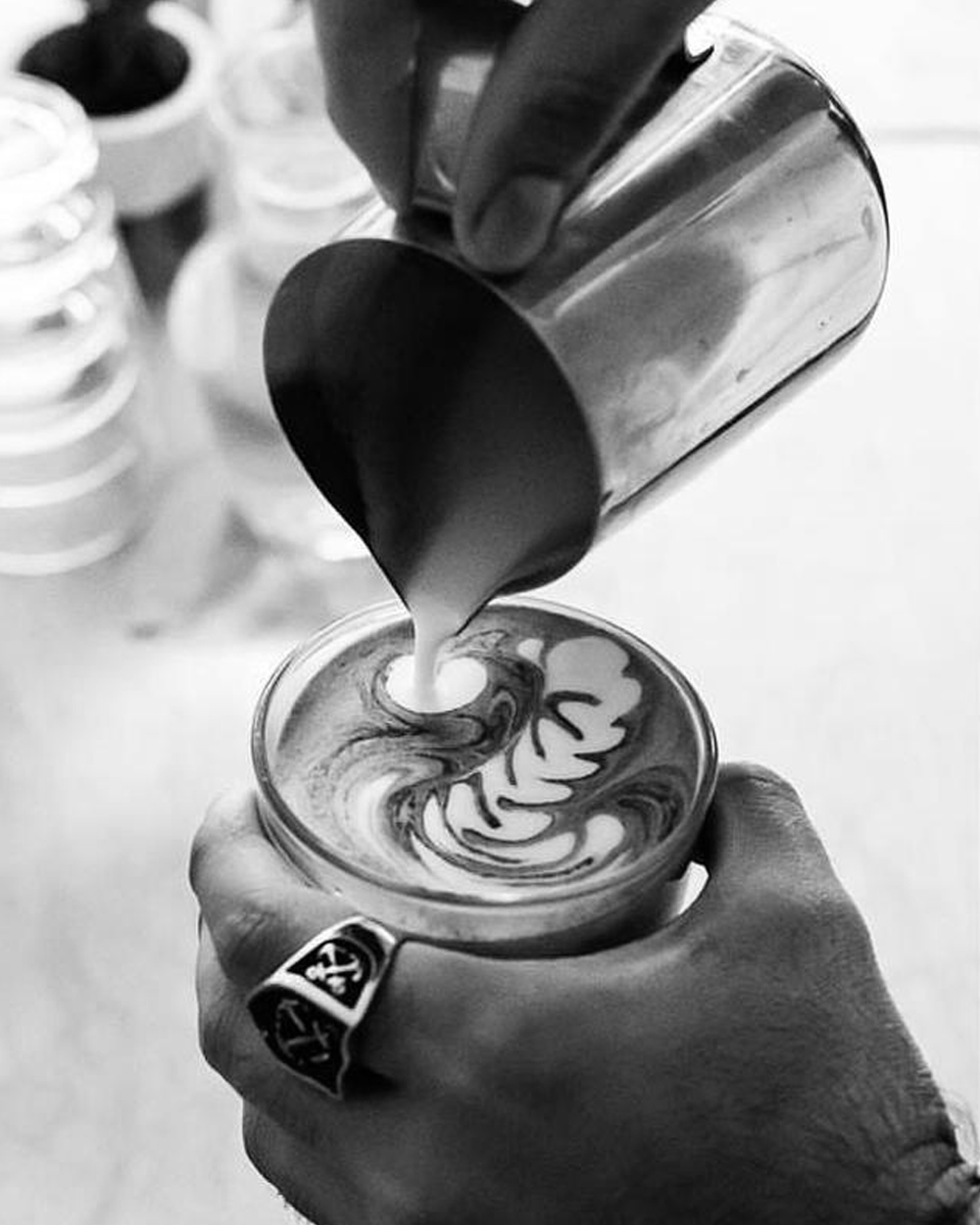 F.MONDAYS CAFE  Joel & Molly's favourite coffee shop F.Mondays will be setting up their espresso machine in our Souk serving coffee & of-course mint tea through out the pop up!