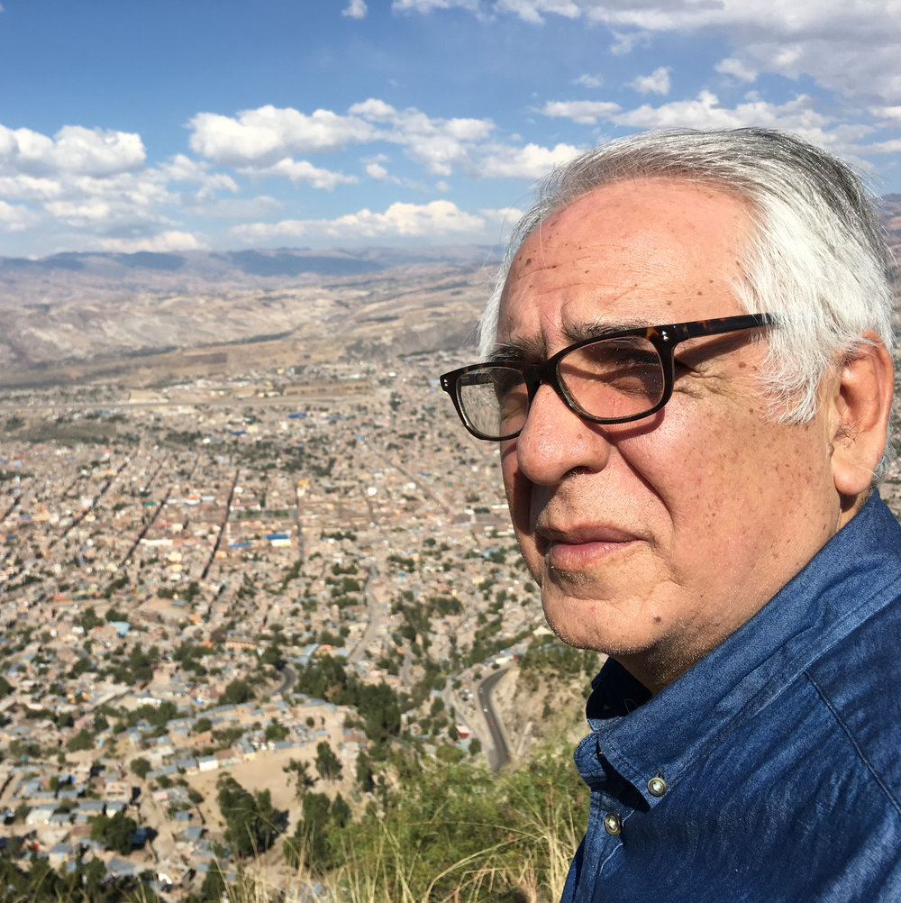 RODOLFO PEREIRA  (Peru)  DIRECTOR  Filmmaker, writer, non-career diplomat, and journalist. Pereira has directed two TV series and fictional short films. He has won international awards in film, journalism and literature.