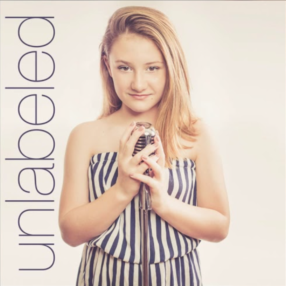 """Unlabeled"" -   Single    Isabelle Gottfried  Isabelle's cover of 'Unlabeled' was a more minimalistic approach to the song, showcasing this 12 year old's gorgeous & powerful voice.  Produced, Recorded, Mixed, & Mastered by Carl Culley"