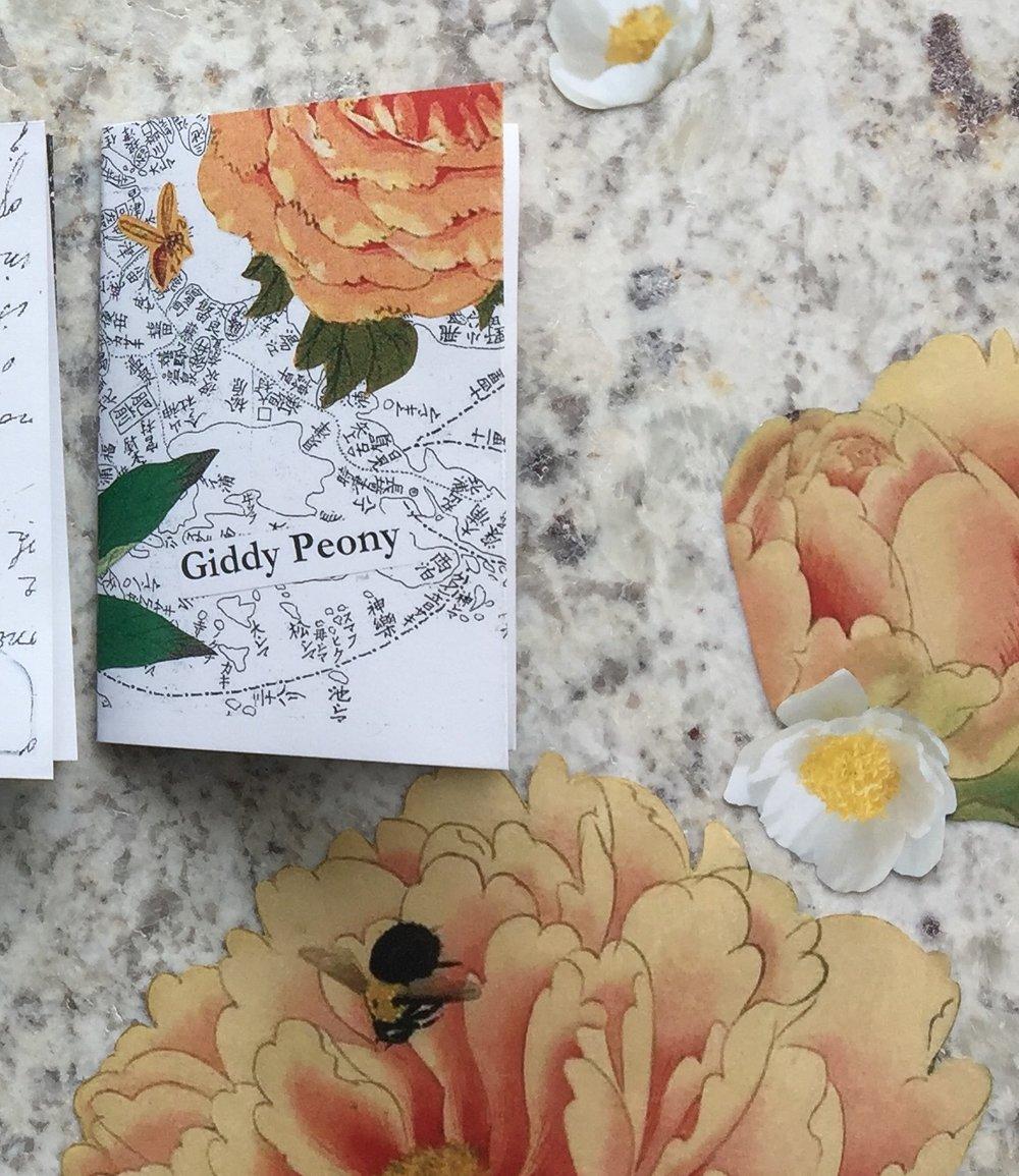 """""""Giddy Peony"""" by MJ MIllington, 2018"""