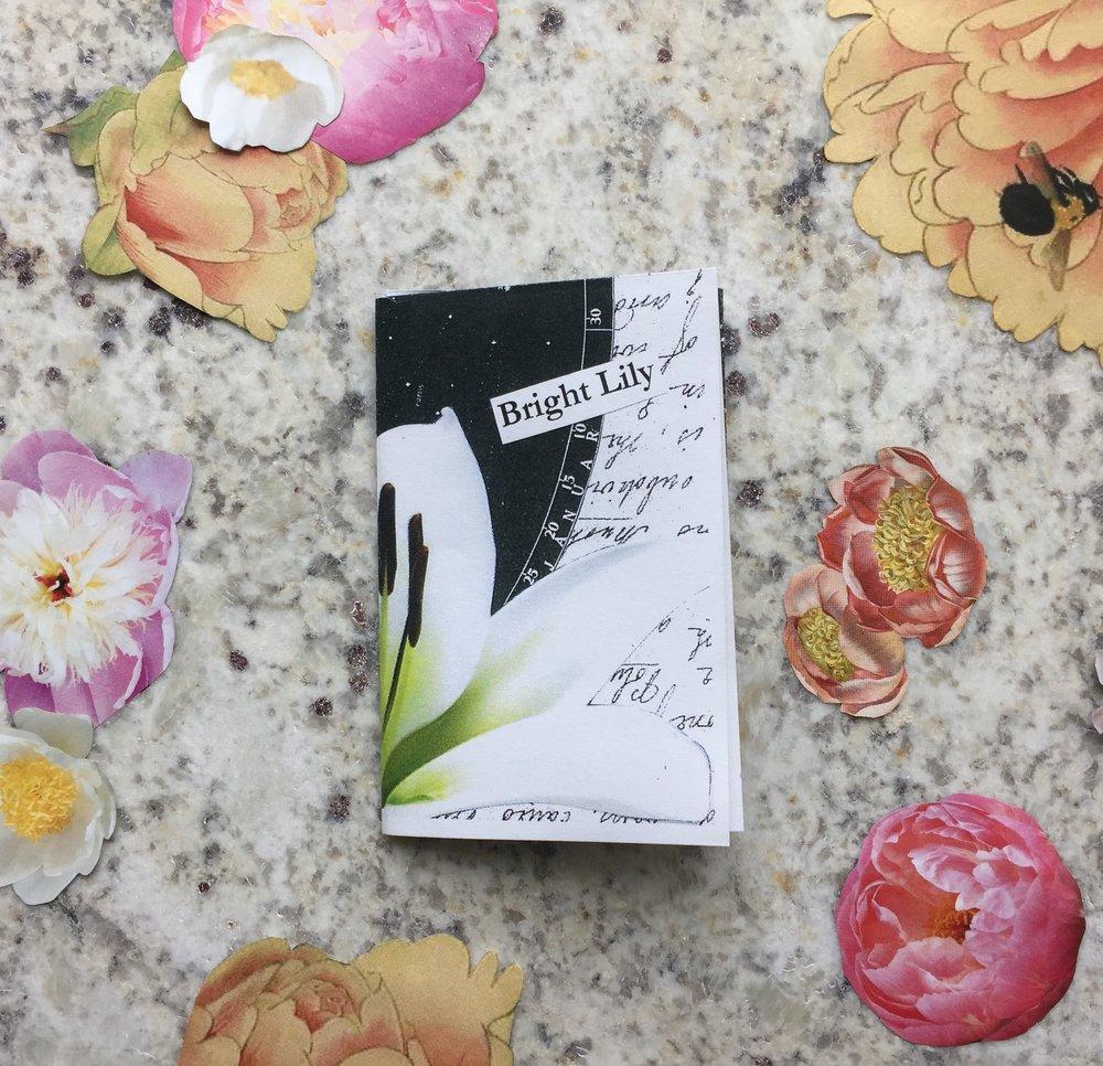 """Bright Lily"" by MJ Millington, 2018"