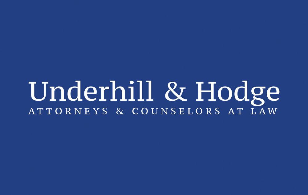 Underhill Hodge LLC Logo Display