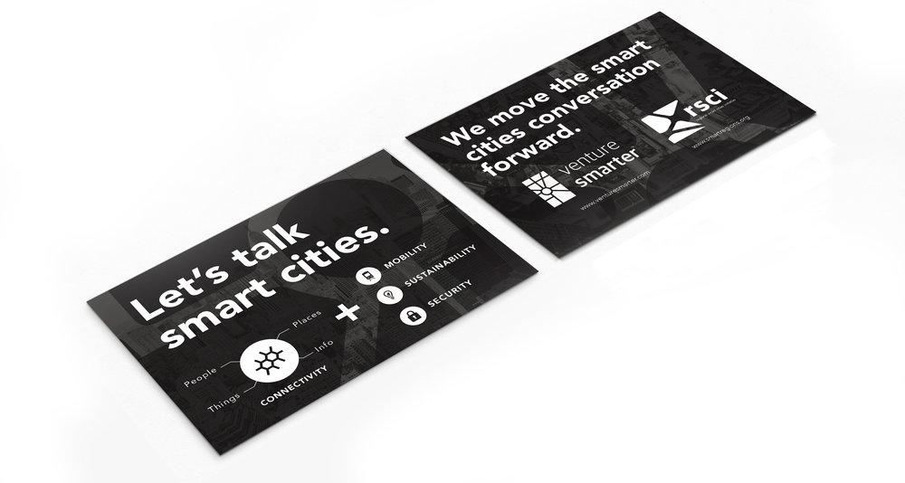 Smart City Postcard Mockup